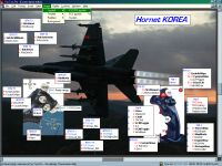 Hornet Korea layout in the Custom Layout Editor
